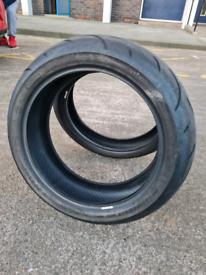 Dunlop sportmax tyres