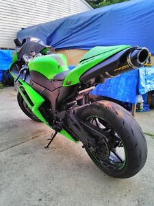 2007 KAWASAKI ZX6R TWO BROTHERS EXHAUST MONSTER ENERGY Windsor Region Ontario image 10
