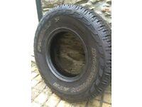 2x Pirelli Scorpion ATR tyres 235/85 R16, 4x4