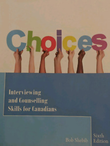 Choices textbook for counselling skills 1 and 2