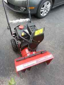5.5 HP 22 inch 2-stage snowblower for sale