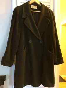 Dark Grey Alpaca Wool Coat West Island Greater Montréal image 2