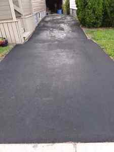 Quality exterior services - pressure washing, driveway sealing London Ontario image 5