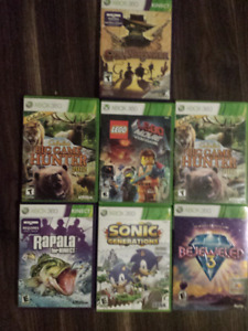 XBOX 360 GAMES   ALL THE BEST  CHEAP