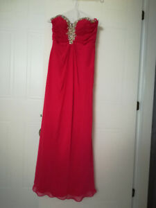 Robe pour occasion rose