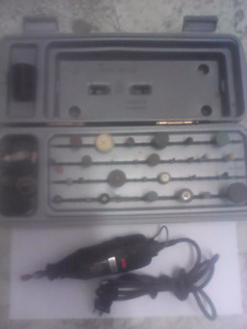 Sears Craftmans rotary drill and accessories first $25