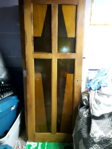 8 SOLID OAK DOORS