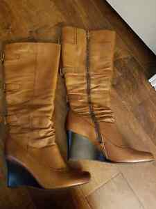Brand new tall leather boots St. John's Newfoundland image 4