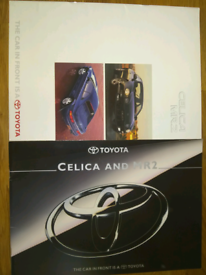Toyota Celica and MR2 brochures