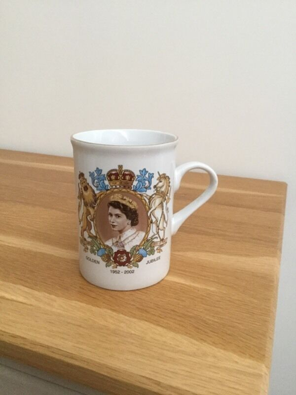 Golden jubilee China mug