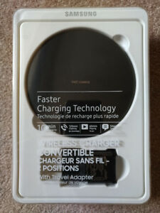 BNIB Samsung Qi Wireless Fast Charger Convertible Charging Stand