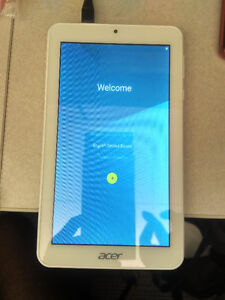 "Acer Iconia One 7"" 16GB White Android 5.0 tablet"
