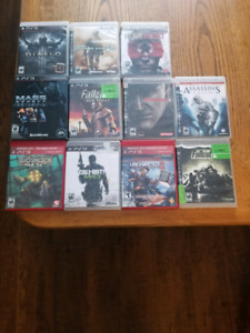 Multiple PS3 games for sale