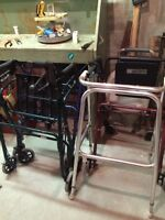 Walkers and other disability aids