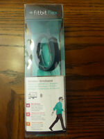 Fitbit Flex New Sealed Package Slate Color