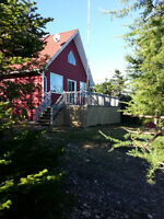 For Sale Three bedroom A Frame Cabin on Collins Pond, NL