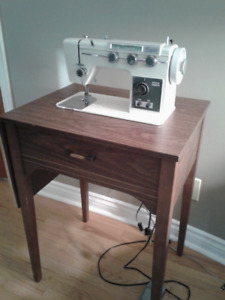 Small table and sewing machine for sale!!