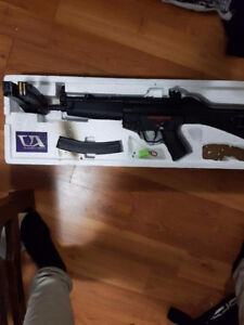Airsoft equipment for sale, p90, sniper, mp5