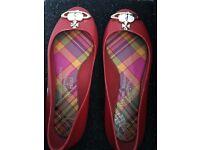 Vivienne Westwood Melissa flat shoes size 3