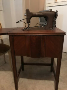 Vintage Sewing Machine & Table - Thickson & Rossland, Whitby