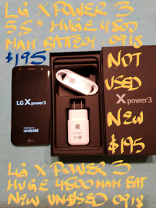"""Firm$195orTRADE 5.5""""092018 NEW SEALED LG X POWER 3+ 16GB"""