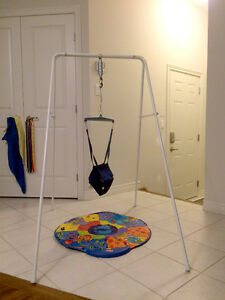 Jolly Jumper on a Stand with music mat