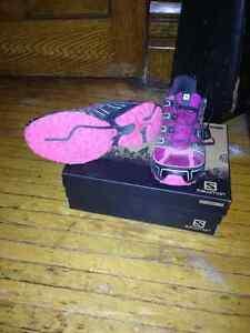 Salomon trail running shoes