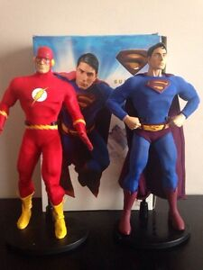 Dc collectibles Deluxe figures Superman and Flash Strathcona County Edmonton Area image 2