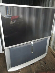 51 inch rear projection tv