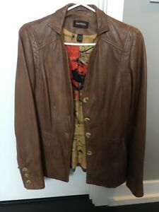 Danier leather jacket size 2xs