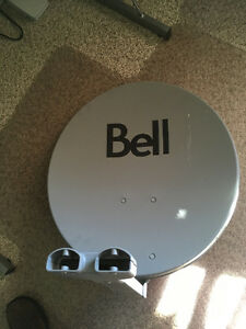 Bell satalite dish and HD reciever