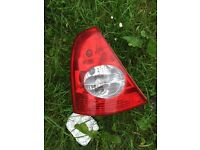 Renault Clio near side rear light