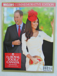 Royals: The royal tour of Canada - rare magazine