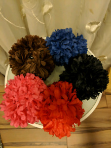 NEW Floral hair clips