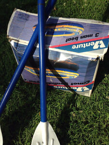 MOVING SALE: Boat with oars