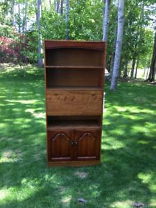 Bookcase/ Desk Wall Unit