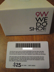 9 West Gift Card