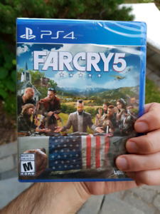 Far Cry 5 PS4 brand new sealed/neuf sceller