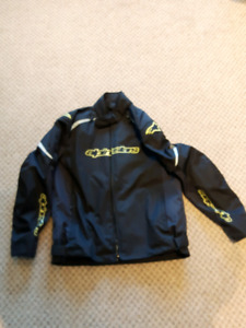 Almost NEW 3 Season Aplinestar Motorcycle jacket