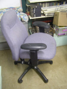 Grey Managers Chair