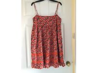 Jack Wills Flowery Dress. Size 14