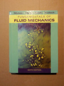 Fundamentals Of Fluid Mechanics - 6th Edition