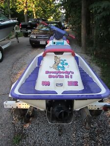 1994 580 SEA DOO WITH TRAILER Kawartha Lakes Peterborough Area image 4