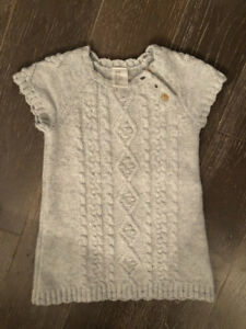 BABY GIRL H&M SHORT SLEEVE COMFY DRESS 9-12 MONTHS