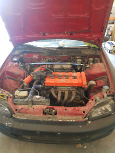 1992 Honda civic project