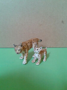 Schleich Toy Collection - Lynx Family