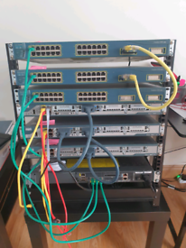 CISCO CCNA CCNP CCIE Network Devices Full Rack