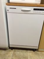 GE portable dishwasher almost new