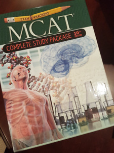 MCAT  Exam Crackers Complete Study Package