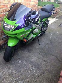 Kawasaki ninja zx6r 1998